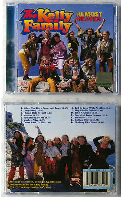 THE KELLY FAMILY Almost Heaven . 1996 Kel-Life CD TOP
