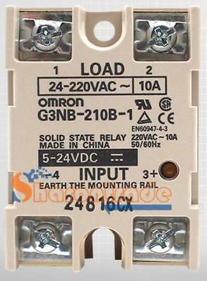 1PCS New Omron Solid State Relay G3NB-210B-1 5-24VDC