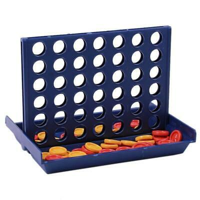 Strategy Connect Four 4 In A Row Match 4 Family Kids Fun Checkers Toy Game DS3