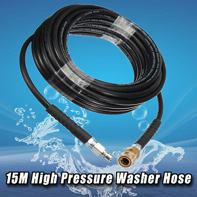 5/15M 5800PSI Brass Replacement 3/8 Quick Connect High Pressure Washer Hose Tube