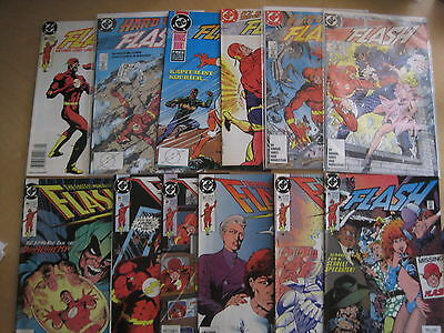 The FLASH Vol 2 1987 SERIES, BUNDLE of 113 DIFFERENT ISSUES. 95+% are FN - NM