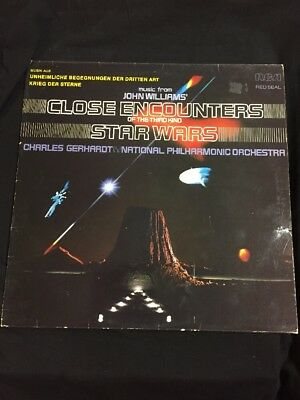 LP Star Wars  ( music from John Williams´Close encounters of the third kind )