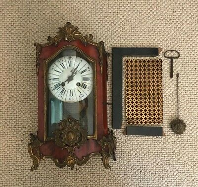 Antique Mantel Clock From Mid 1800s (Valued at up to £400 if working)