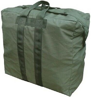Cargo Bag Parachute US USMC Kit Bag XL carry straps Olive Drab green used Nylon