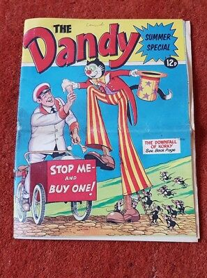 1974 The Dandy Summer Special Comic