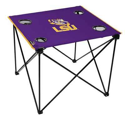 LSU Louisiana State University Tigers Deluxe Table