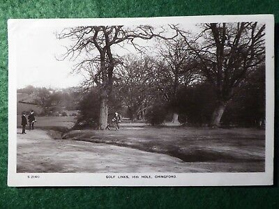 Essex. Chingford Golf Links.  16th Hole.  1909.  RP