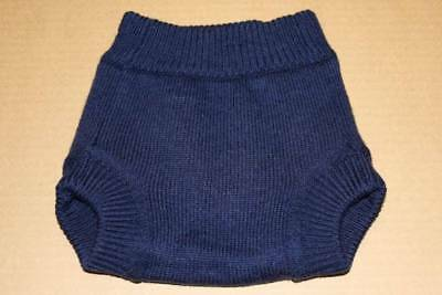 SLOOMB Blue Shadow Small Wool Diaper Cover S