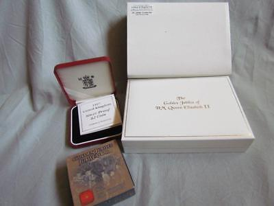 Golden Jubilee Coins .925 Silver & Crown Jewel Collection