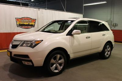 2010 Acura MDX Technology/Entertainment Pkg 2010 Acura MDX Technology/Entertainment Pkg pearl white 4x4 sunroof non smoker
