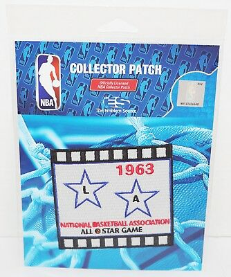 "Nba 1963 La All Star Game Retro National Basketball Association 3.5"" Patch 2016"