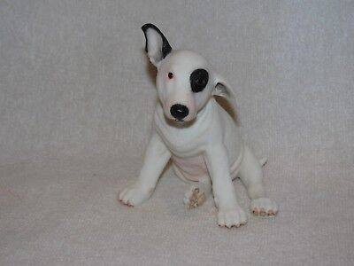 Nicely Detailed Bull Terrier Puppy Dog Figurine 2005