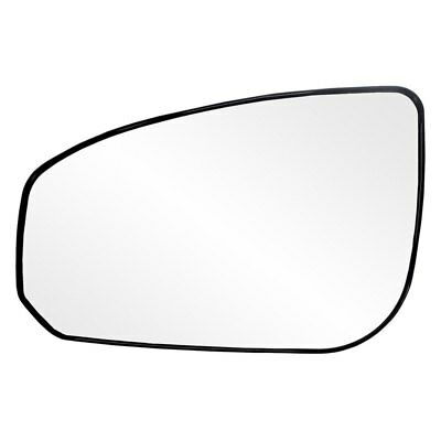 For BMW 325xi 01-05 K Source Driver Side Mirror Glass w Backing Plate Heated