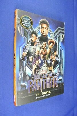 BLACK PANTHER THE NOVEL Book Based on the Movie for Young Readers