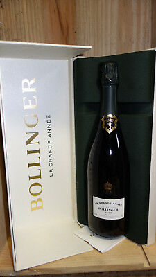 Champagne Bouteille Bollinger Grande Annee  2000