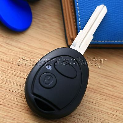 2 Buttons Entry Lock Remote Key Battery Repair Kit fob Shell Case for Land Rover