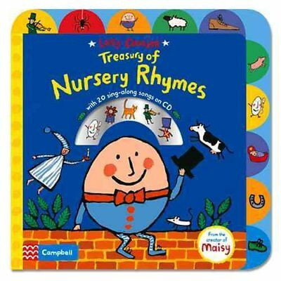 Lucy Cousins Treasury of Nursery Rhymes Book and CD 9781447277248