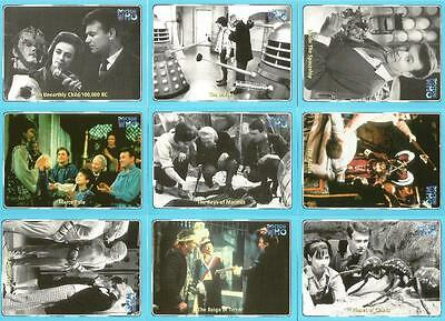 Full 120 Card Base Set from Strictly Ink Dr Doctor Who Series 1 Base Card Set