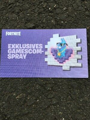 Fortnite Exclusive Lama Spray Gamescom Rar Epic Games