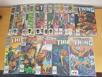 THE THING  #1-#28 Marvel Comics 1983-85 Fantastic Four