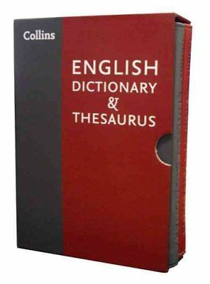 Collins English Dictionary and Thesaurus Slipcase set 9780007948918
