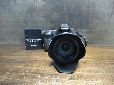 CANON EOS60D 18 MP DSLR CAMERA WITH CANON EFS 18-200mm 1:3.5-5.6 IS LENS