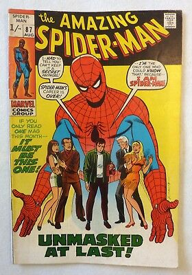 Amazing Spider-Man 87 Silver Age 1970 NF/FN Condition