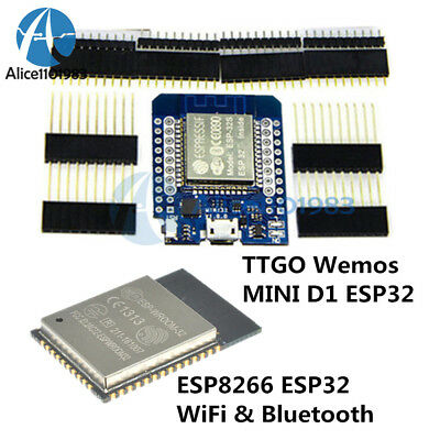 ESP32 ESP-32S MINI D1 Wemos WIFI Bluetooth ESP8266 CP2104 Development Board