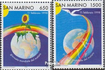 San Marino 1756-1757 (complete.issue.) unmounted mint / never hinged 1998 world