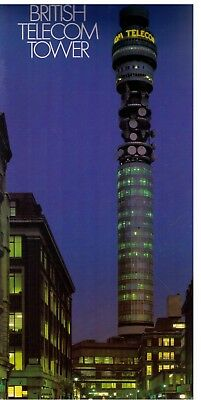 THE BRITISH TELECOM TOWER This illustrated 10 page booklet was published in 1987