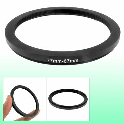 77mm to 67mm 77mm to 67mm Black  Ring Adapter for Camera