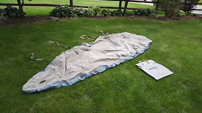 Laser Sailboat - Top Cover - STORM - Hull Deck Boat Storage Cover Sail Boat