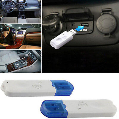 USB Bluetooth Stereo Audio Music Wireless Receiver Adapter For Car Home Speak WR