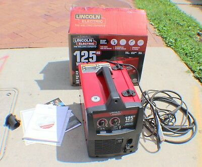 Lincoln Electric Weld Pak 125 HD Mig Welder Flux Core Welder K2513-1