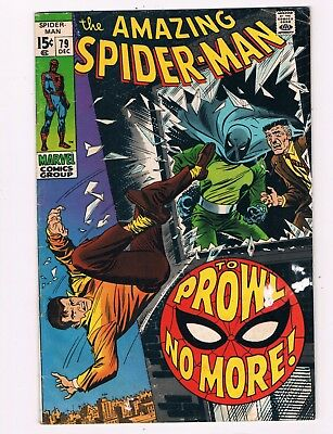 Amazing Spider-Man #79  (1969)  2Nd Prowler Appearance