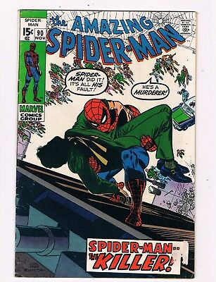Amazing Spider-Man #90  (1970)  Death Of Captain Stacy