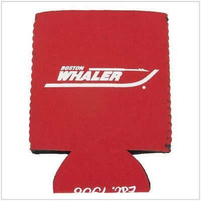 Boston Whaler Boats Red Neoprene Collapsible Can Koozie