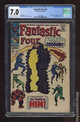 Fantastic Four (1st Series) #67 1967 CGC 7.0 1616234008