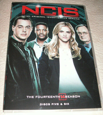 NCIS The Fourteenth Season (DVD,2017) Replacement Discs DISC FIVE & SIX ONLY New