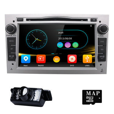 Car DVD Player GPS Radio For Opel Vauxhall Vectra Zafira Corsa Astra Vivaro +Cam