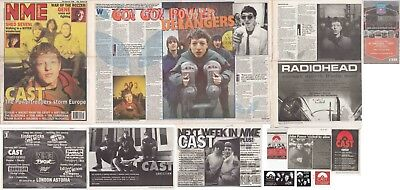 CAST : CUTTINGS COLLECTION -adverts interview- johnpower