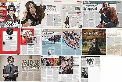 PULP- JARVIS COCKER : CUTTINGS COLLECTION -interviews-