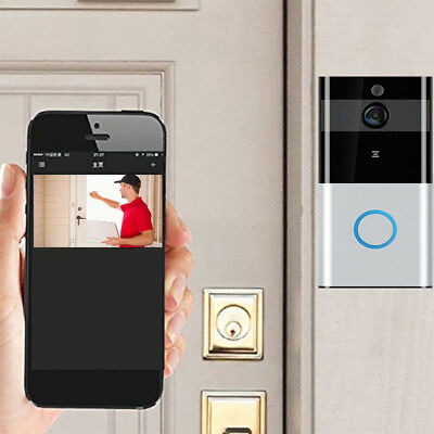 Ring WIFI Doorbell Wireless Bluetooth Smart Home Video IR Camera Phone Safe US!!