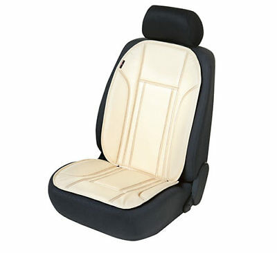 Seat Cover Seat Cover Ravenna Beige Synthetic Leather Seat
