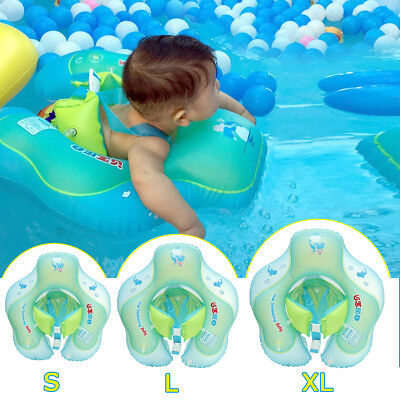 Inflatable Baby Infant Swimming Pool Float Ring Kids Toddler Neck Swim Trainer