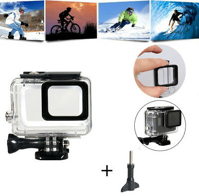 For GoPro Hero (2018)/6/5 Waterproof Case Diving Protective Housing Shell 45m