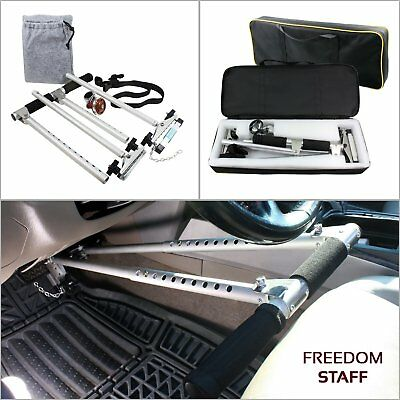 New Freedom Staff Portable Handicap Hand Controls Gen 2 Driving Car Mark