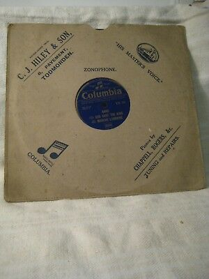 Band: God Save The King March / Marche Lorraine/ Double Eagle - 1937 (wie neu)