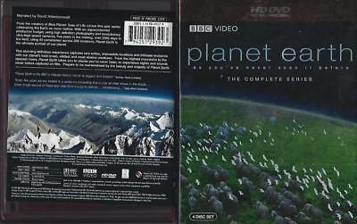 Hd Dvd:  4-Disc Planet Earth The Complete Series