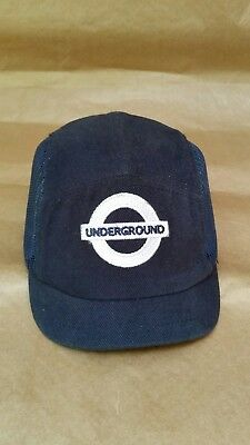 London Underground Cap Safety Hat Tube Railway  Udjustable 54-59cm Centurion